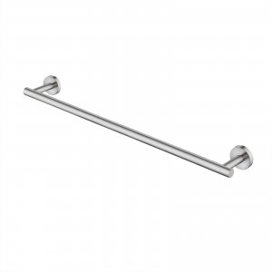 Bathroom 23.6 Inches Wall Mounted Towel Bar No Drill, Brushed Steel A2000S60DG-2