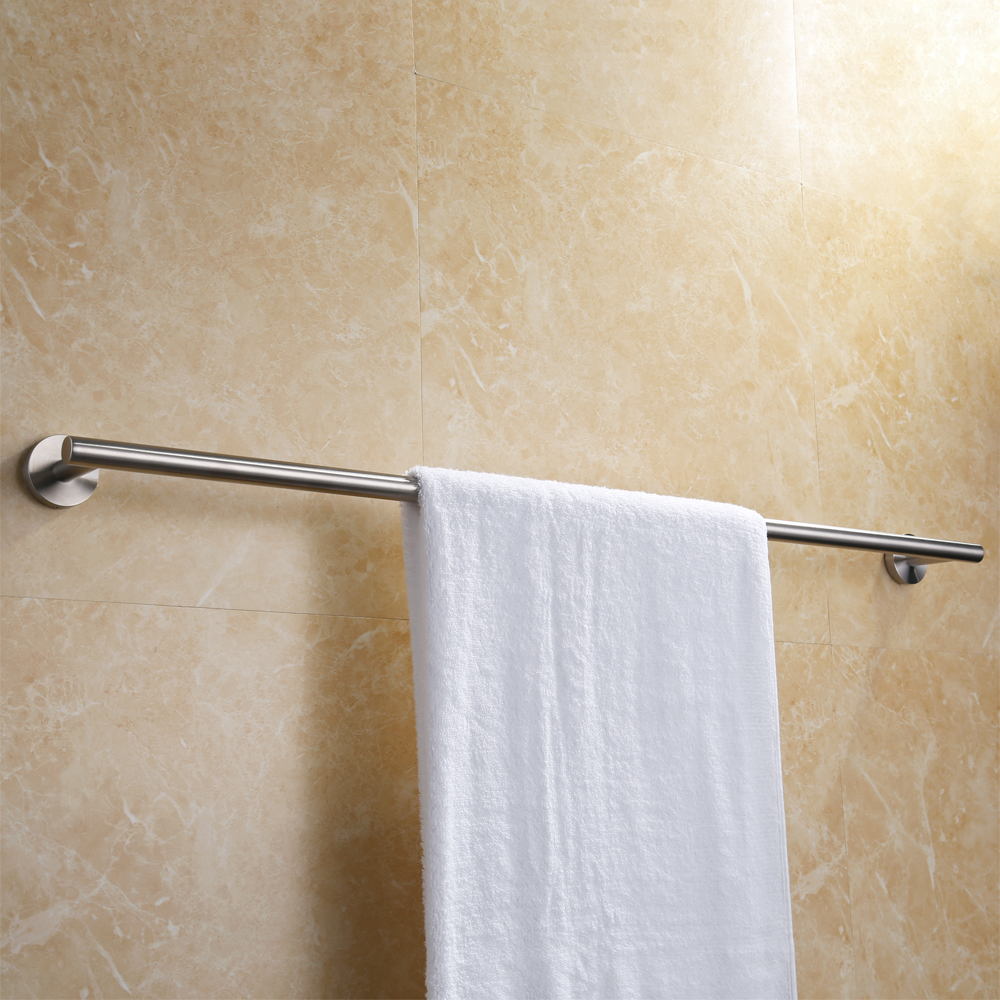Seattle Double Towel BarIncrease your bath's style and storage with the  Seattle Collection Double Towel Bar. This handsome and handy towel holder  is made of ...