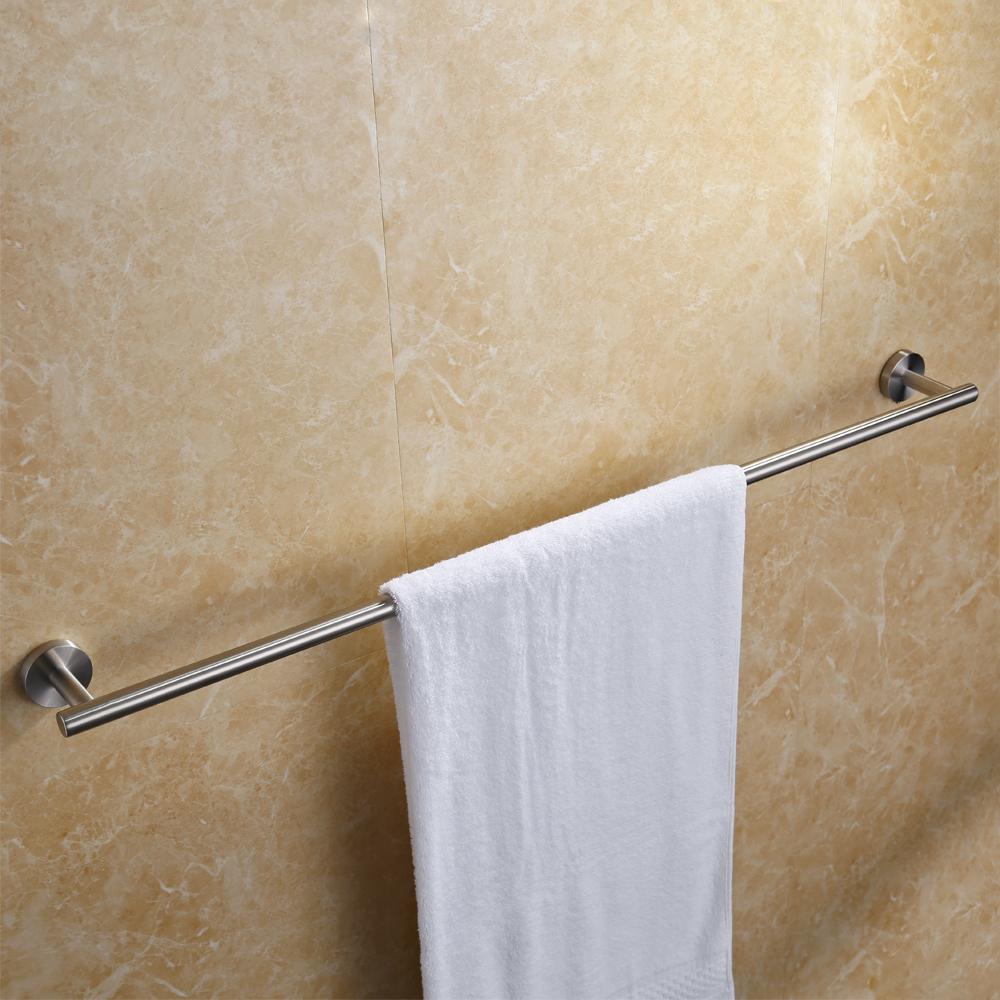 Brushed Nickel Towel Bar 36 Kohler Coralais Brushed Nickel