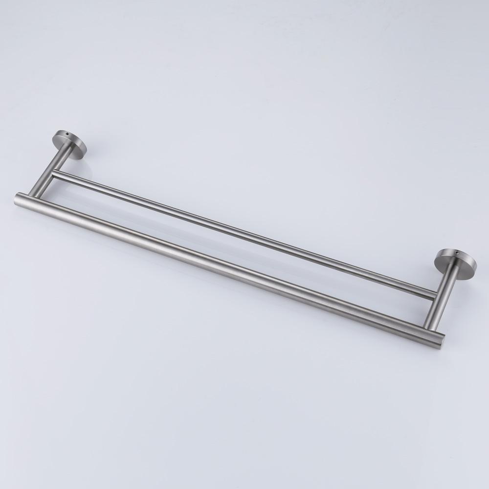 Kes 30 Inch Double Towel Bar Bathroom Shower Organization Bath Dual