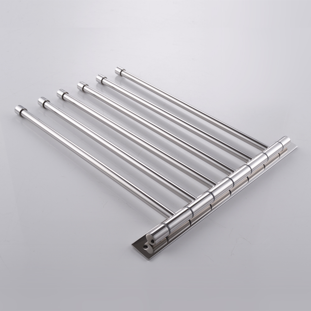 Kes Sus 304 Stainless Steel Swing Out Towel Bar 6 Bar