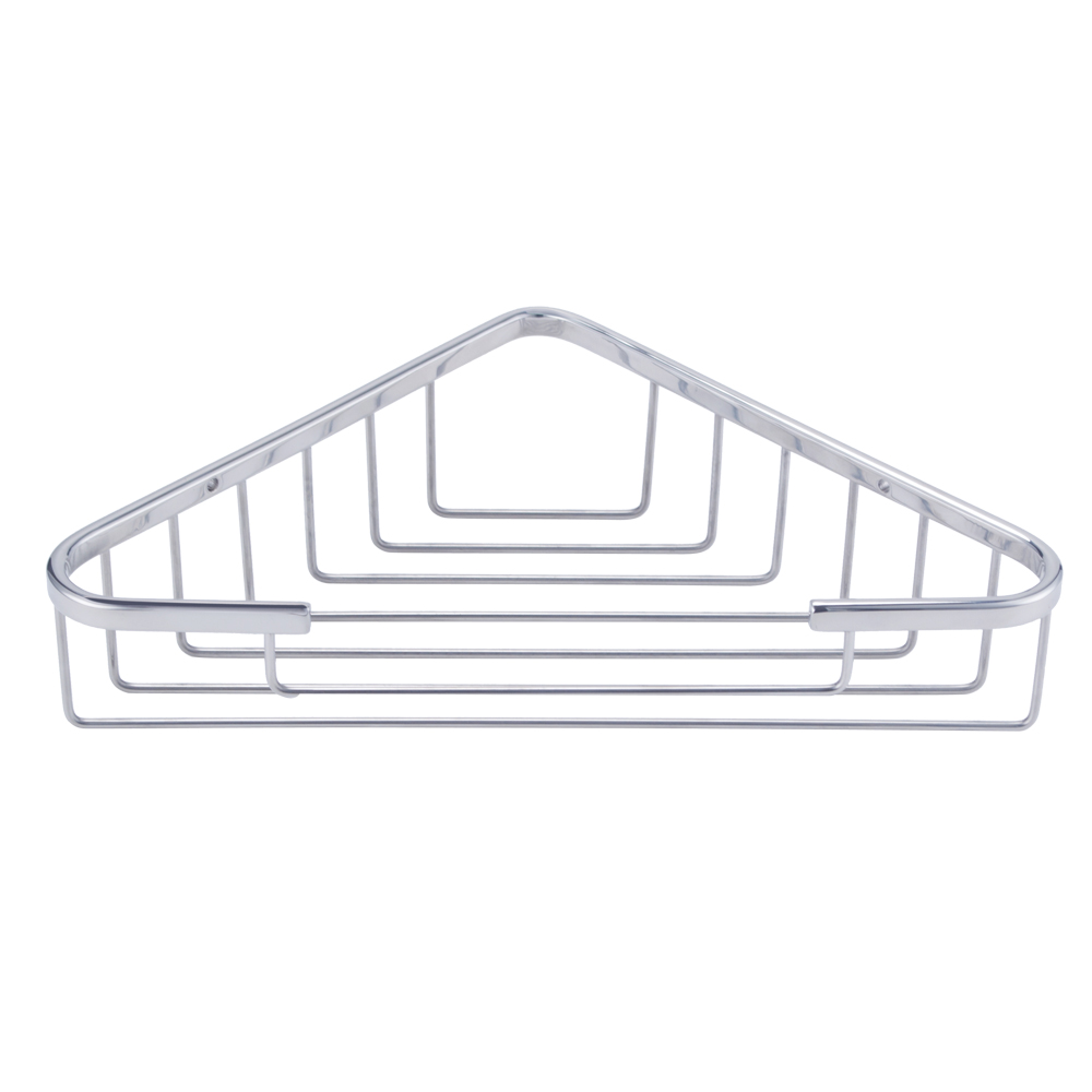 KES Bathroom Corner Tub And Shower Caddy Basket Triangular SUS304 Stainless  Steel Wall Mount, Brushed Finish, A2120A 2
