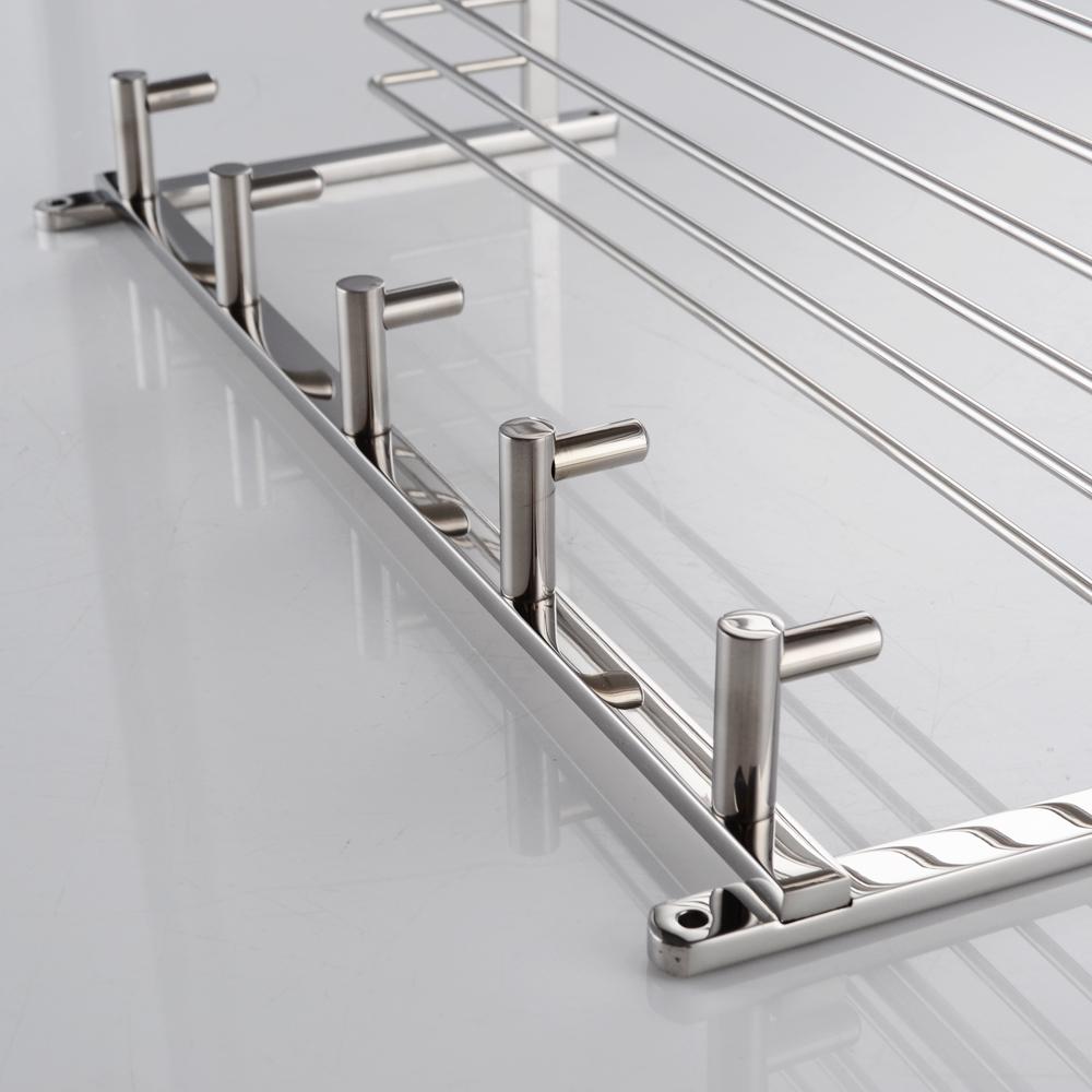 KES A2128-2 Bathroom Lavatory Rectangular Basket Shelf with Towel ...