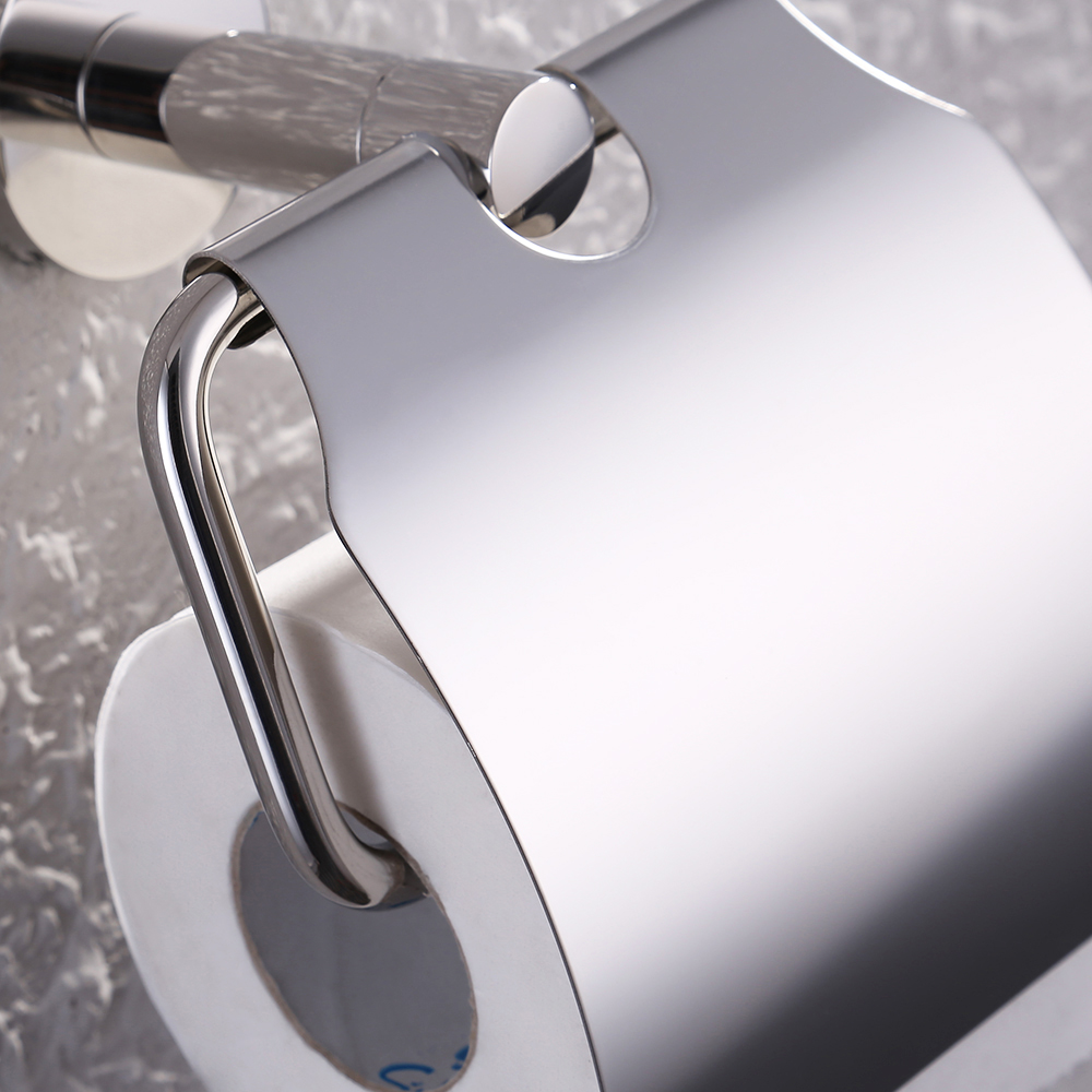 KES A2170 Stainless Steel Toilet Paper Holder Single Roll with Cover ...