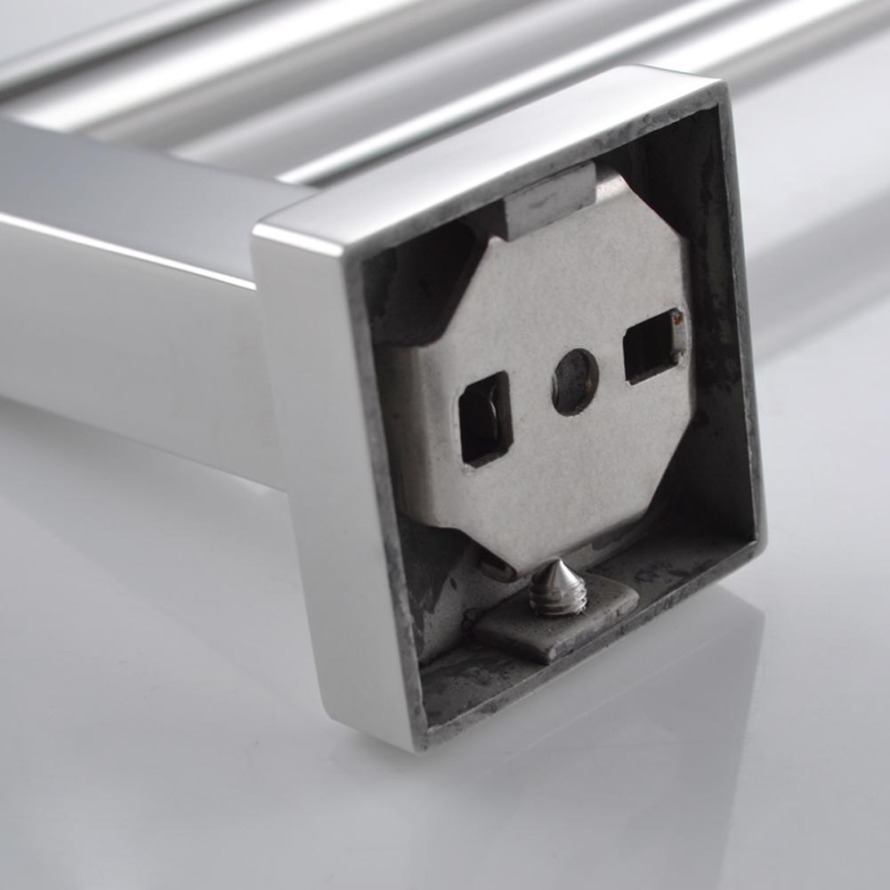Kes A2201 Bathroom Lavatory Double Towel Bar Wall Mount Polished Stainless Steel