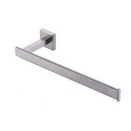 KES SUS 304 Stainless Steel Kitchen Paper Towel Holder Storage Rustproof for 13-Inch Long Tissue Roll Dispenser Hanger Contemporary Style Wall Mount, Brushed Finish, A22480-2