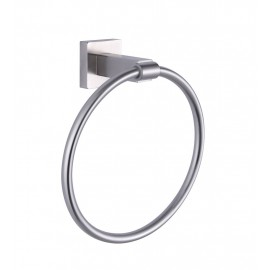KES A2280-2 Bathroom Lavatory Towel Ring Wall Mount, Brushed Stainless Steel
