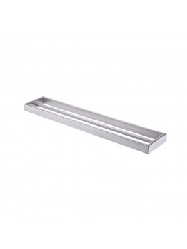 KES Bathroom Double Towel Bar Wall Mount Brushed Finish, SUS304 Stainless Steel, A23001-2