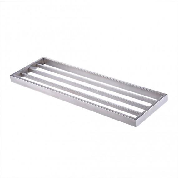 KES Bathroom Single Shelf Towel Rack Wall Mount, Brushed SUS304 Stainless Steel, A23010-2