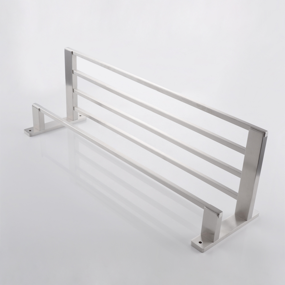 Kes Sus304 Stainless Steel 22 Hotel Towel Rack Bathroom