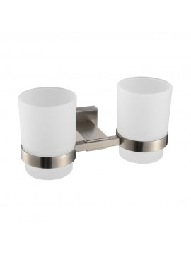 KES Toothbrush Holders Glass Cup Wall Mounted, A2451-2