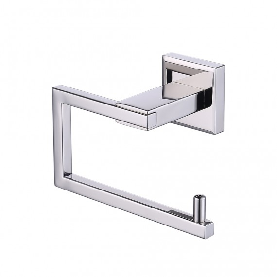 KES SUS 304 Stainless Steel Toilet Paper Holder Storage Rustproof Bathroom Paper Towel Dispenser Tissue Roll Hanger Contemporary Square Style Wall Mount,  A2470/A2470-2/A2470-BK