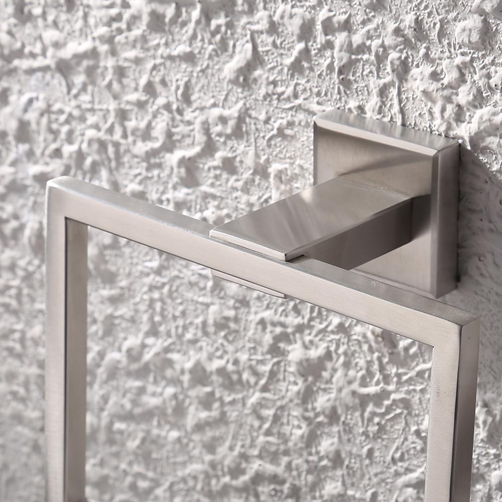 KES SUS 304 Stainless Steel Bath Towel Holder Hand Towel Ring ...