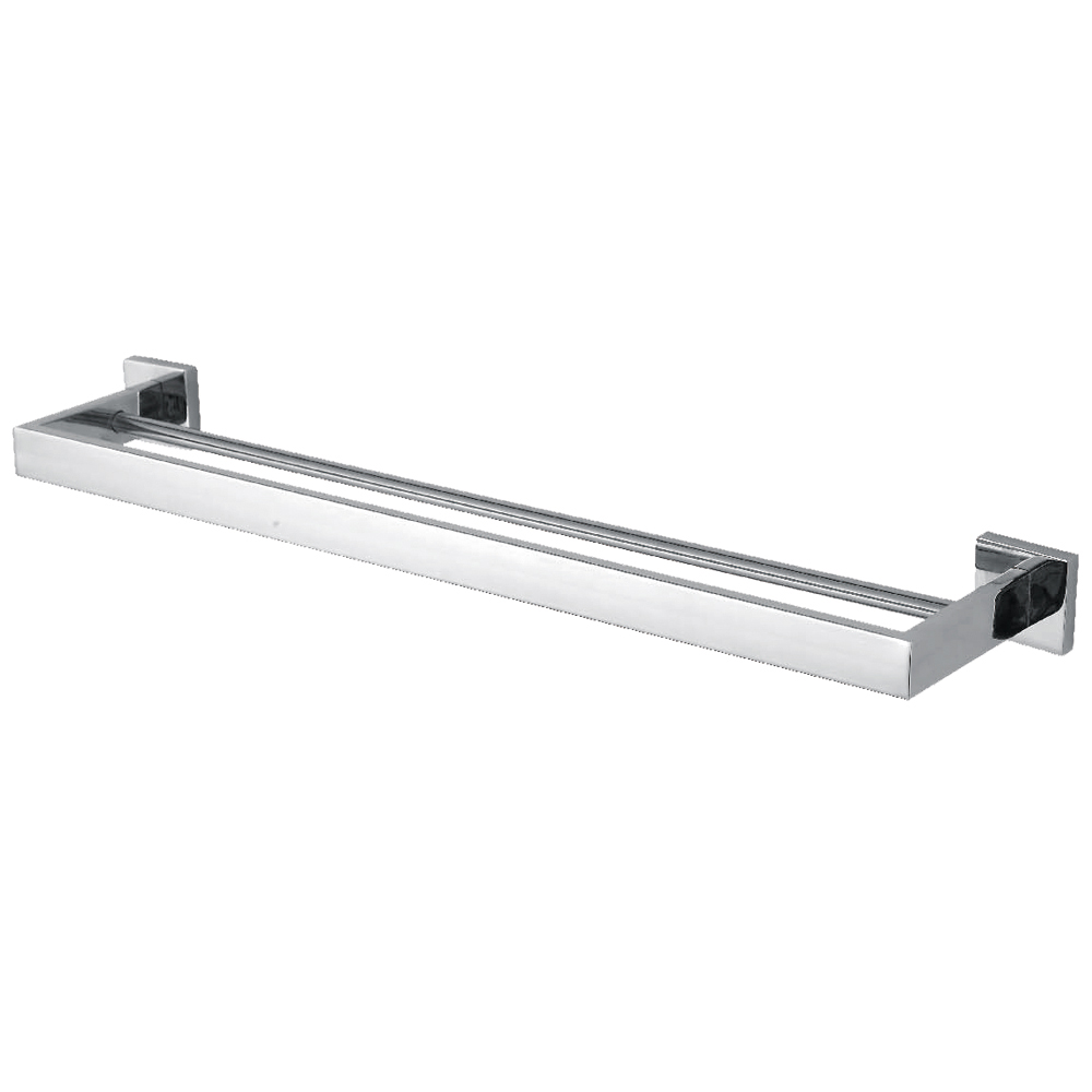 Kes A2501 Bathroom Lavatory Double Towel Bar Wall Mount Polished Stainless Steel