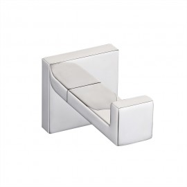 KES A2560 Bathroom Lavatory Wall Mount Single Coat and Robe Hook, Polished Stainless Steel