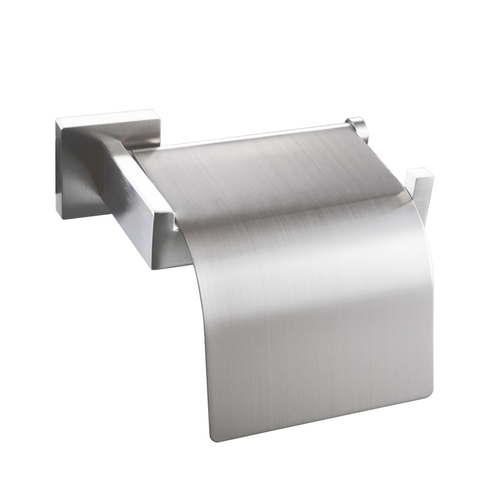 sus stainless steel toilet paper roll holder with cover wall  - kes sus stainless steel toilet paper roll holder with cover wall mountpolished finish a