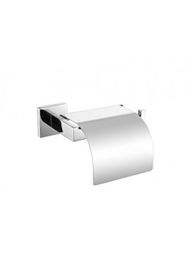 KES SUS304 Stainless Steel Toilet Paper Roll Holder with Cover Wall Mount Polished Finish, A2571