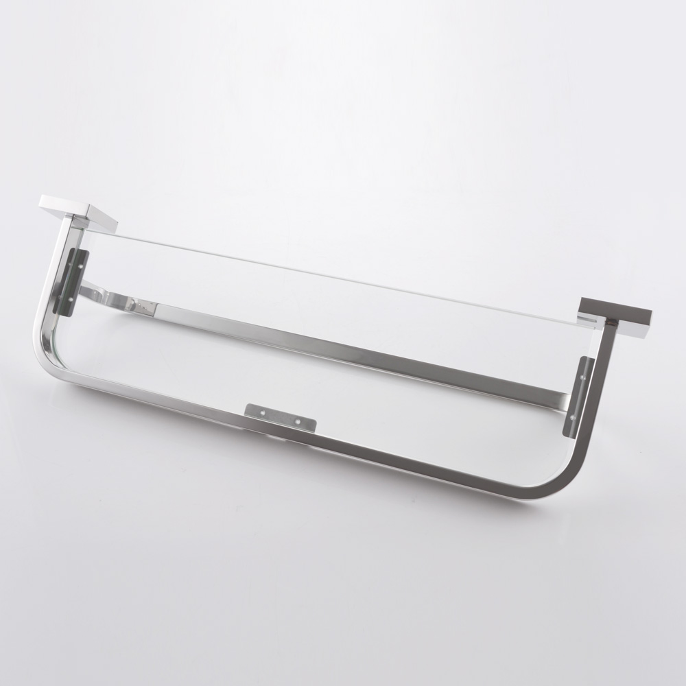 KES Glass Shelf with Towel Bar Bathroom 20-Inch SUS 304 Stainless ...