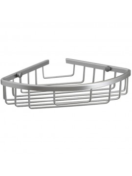 KES Aluminum Tub and Shower Large Corner Basket Wall Mount, A4021A