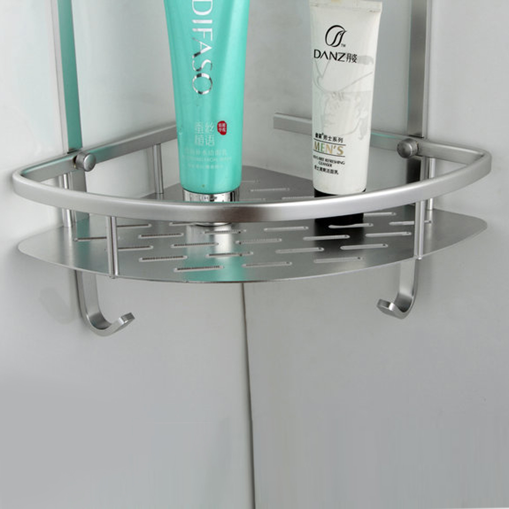 KES A4022B Tub and Shower Large Corner Basket Two-Tier with Hook ...