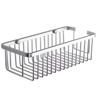 KES A4023 Rectangular Tub and Shower Basket Wall Mount, Aluminum, 18 PCS,
