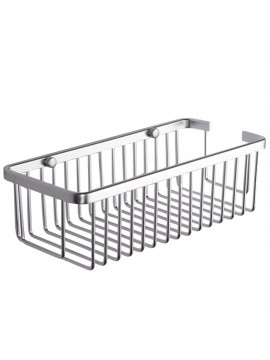 KES A4023 Rectangular Tub and Shower Basket Wall Mount, Aluminum
