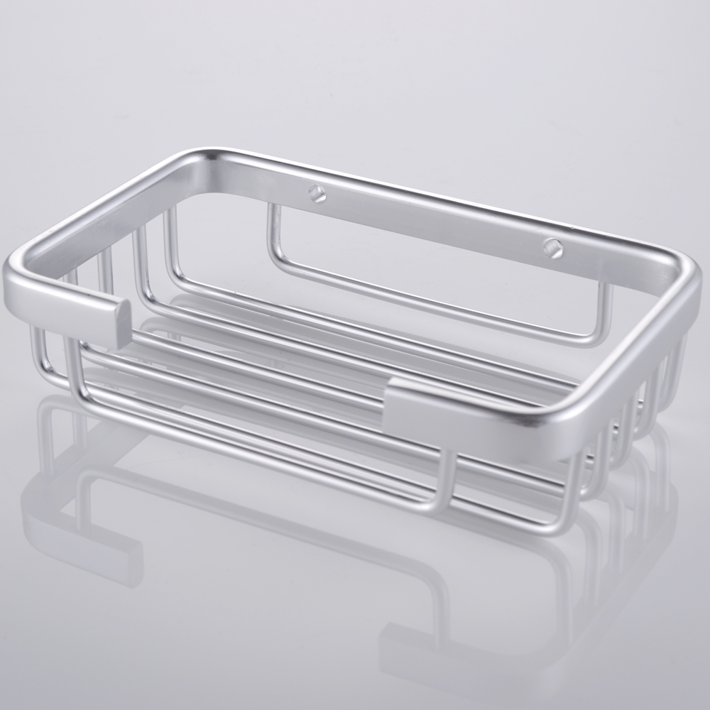 Kes a4040 bathroom soap dish holder wall mount aluminum for Wall mounted soap dishes for bathrooms
