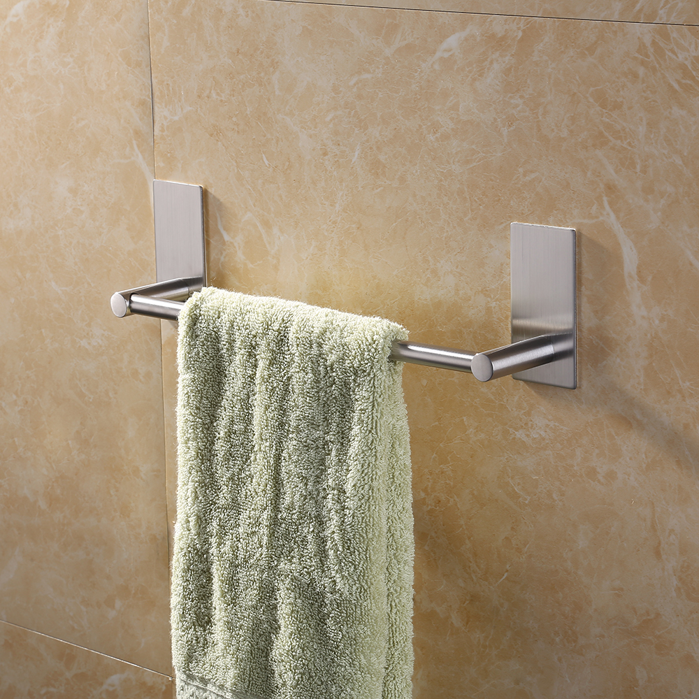 Kes 3m Self Adhesive Towel Bar 12 Inch Small Bathroom