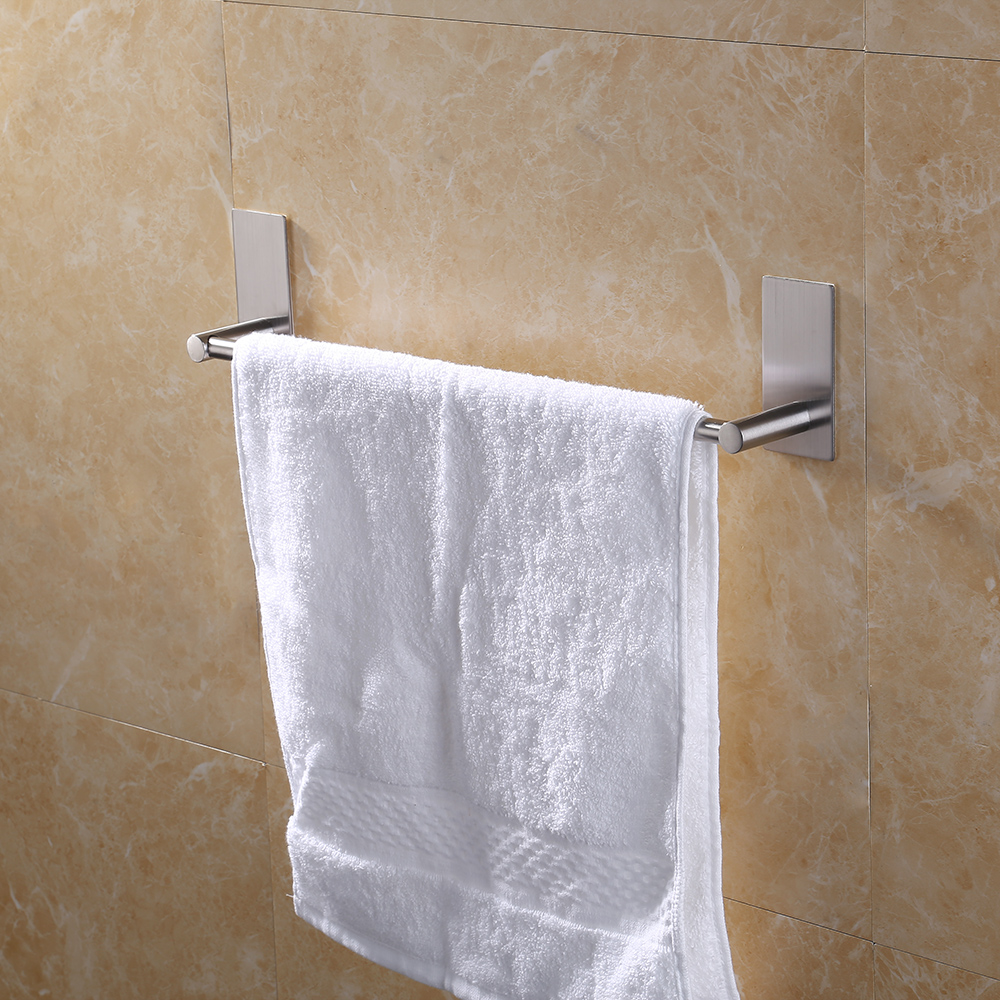 KES 3M Self Adhesive Towel Bar 16 Inch Small Bathroom Kitchen Hand Towel  Hanger Sticky Stick On ...