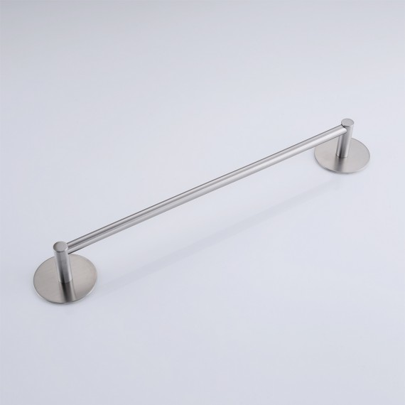 KES 3M Self Adhesive 15.7-Inch Towel Bar Wall Mount, Brushed SUS 304 Stainless Steel, A7001S40-2