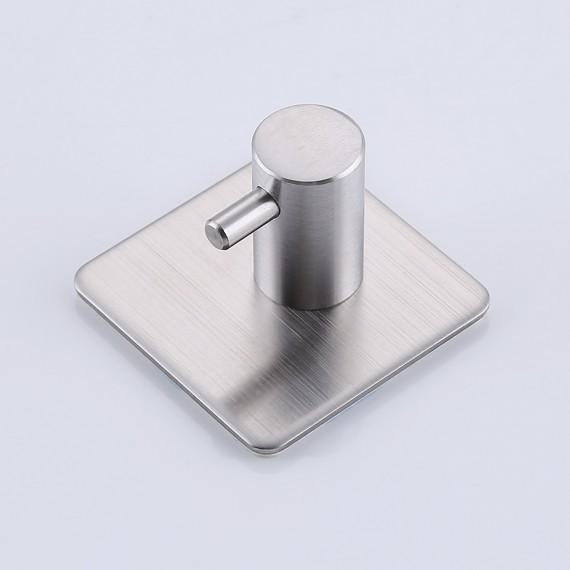 Metal Epoxy Heavy Duty : Kes m self adhesive hooks sus stainless steel heavy