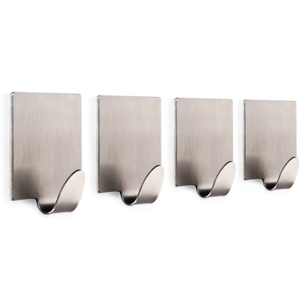 KES Self Adhesive Hooks Key Rack SUS 304 Stainless Steel Garage ...