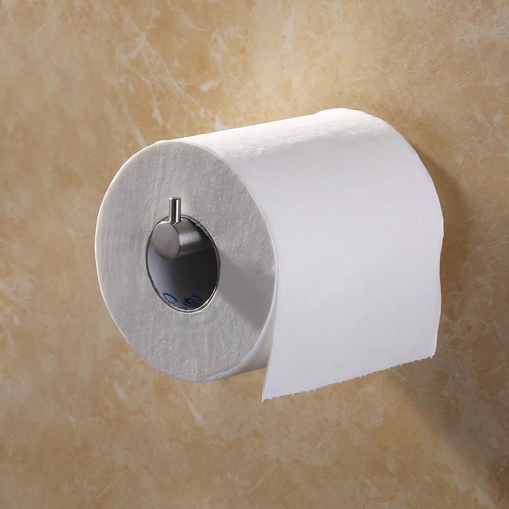 Kes self adhesive sus 304 stainless steel toilet paper - Bathroom towel and toilet paper holders ...