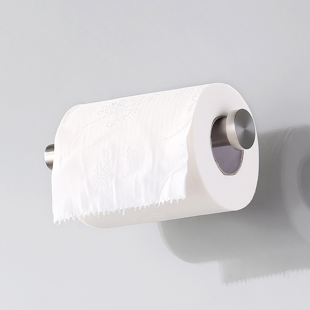 Kes Self Adhesive Toilet Paper Towel Holder Tissue Paper Roll Holder