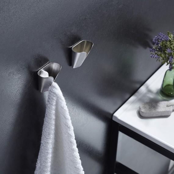Kes Self Adhesive Dish Towel Holder Hand Towel Hook Rack