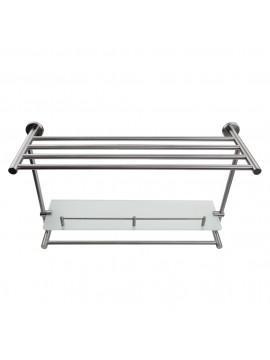 Kes Stainless Steel Bath Towel Rack Bathroom Shelf With