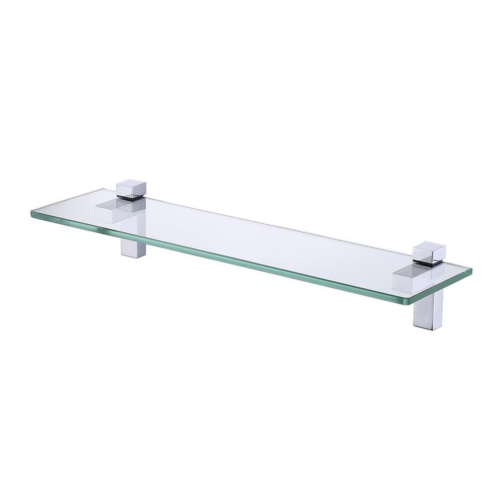 KES Lavatory Bathroom Tempered Glass Shelf 8MM-Thick Wall Mount ...
