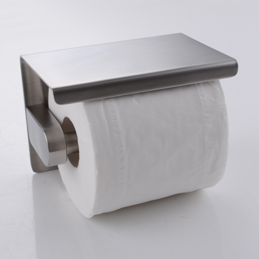 kes sus 304 stainless steel toilet paper holder storage bathroom kitchen paper towel dispenser. Black Bedroom Furniture Sets. Home Design Ideas