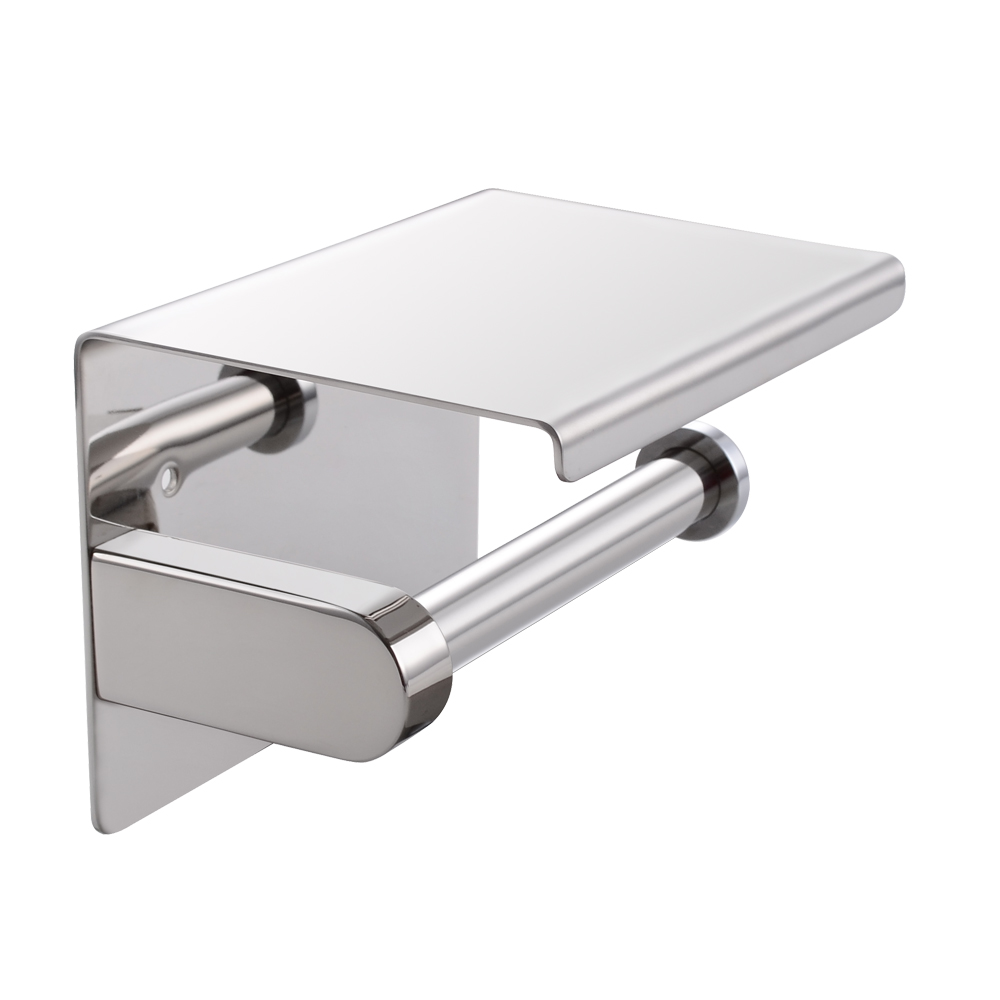 SUS Stainless Steel Toilet Paper Holder Storage Bathroom - Kitchen paper towel dispenser