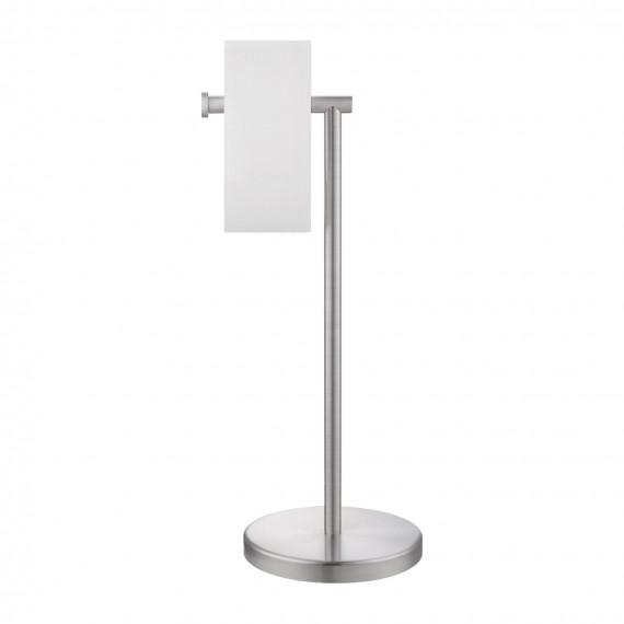KES Toilet Paper Holder Free Standing SUS 304 Stainless Steel Rustproof Pedestal Lavatory Tissue Roll Holder Floor Stand Storage Modern Brushed Finish, BPH283S1-2