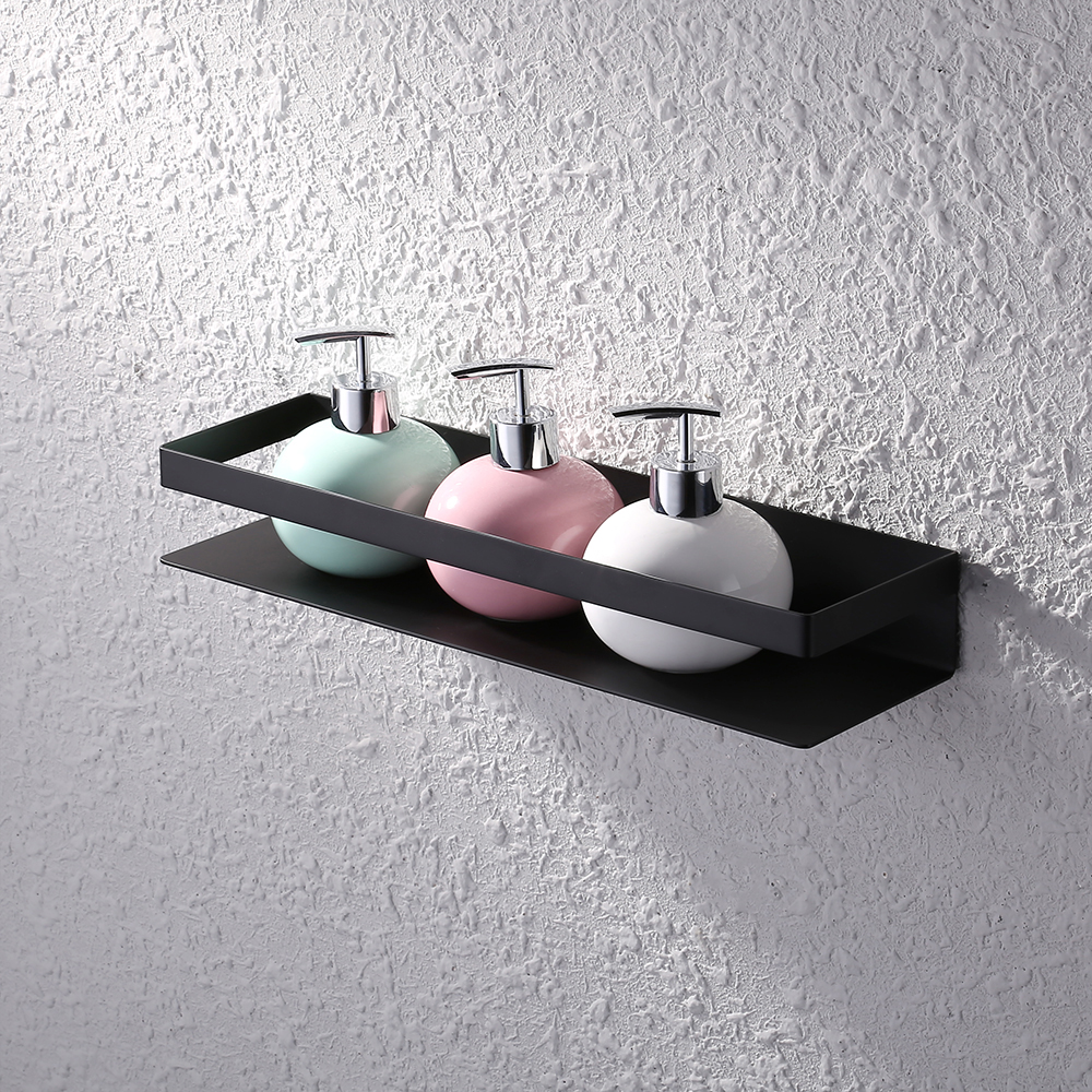 Zack Scala Polished Stainless Steel Shower Shelf Throughout Plans 17. Wall  Mounted ...