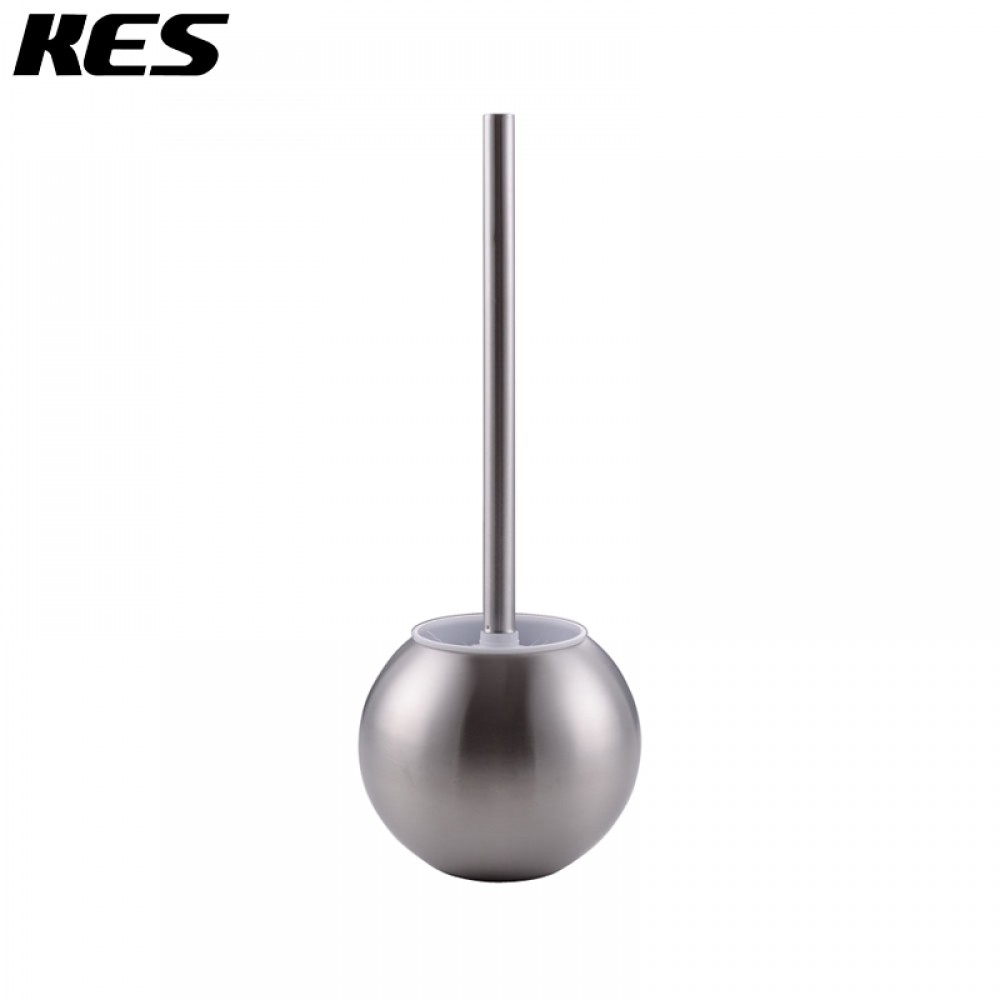 kes sus 304 stainless steel toilet bowl brush and holder for bathroom storage brushed finish btb2002
