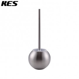 KES SUS 304 Stainless Steel Toilet Bowl Brush and Holder for Bathroom Storage, Brushed Finish, BTB200-2