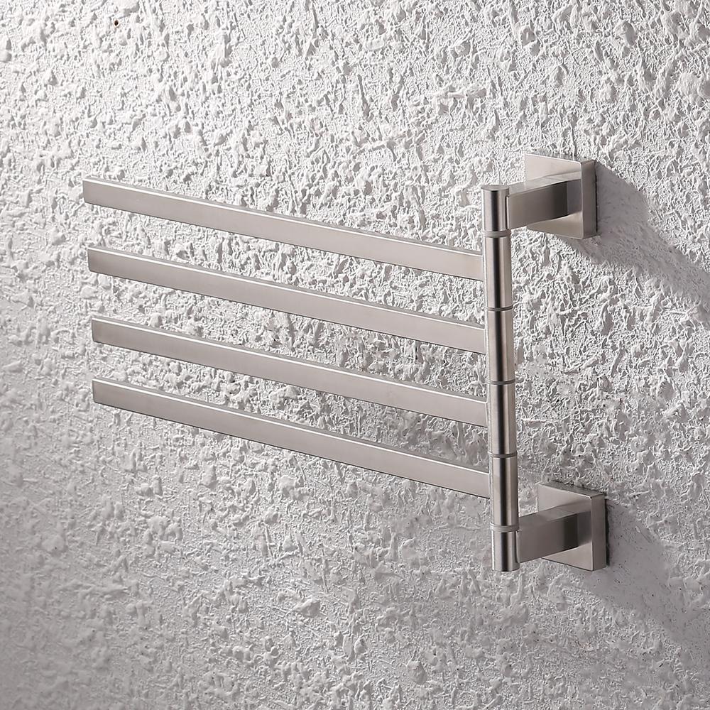 Kes Bath Towel Holder Swing Hand Towel Rack Sus 304 Stainless Steel