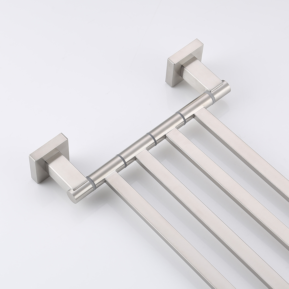 Kes Bath Towel Holder Swing Hand Rack Sus 304 Stainless Steel Bathroom Swivel Bar