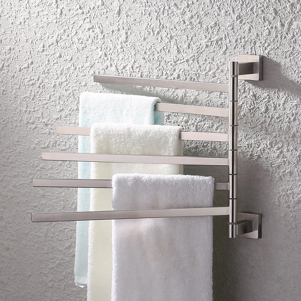 KES Bath Towel Holder Swing Hand Towel Rack SUS 304 Stainless Steel ...