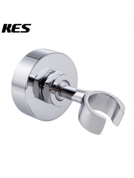 KES C213 Brass Shower Head Bracket Holder Stepless Adjustable Wall Mount, Polished Chrome