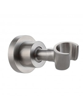 KES C214-2 Shower Head Bracket Holder Stepless Adjustable Wall Mount, Brushed SUS304 Stainless Steel