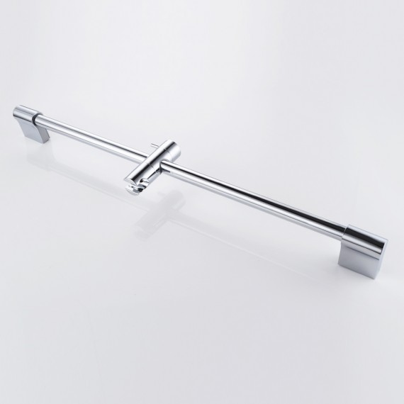 KES F200 Hand Shower Slide Bar with Height Adjustable Sliding Sprayer Holder, Chrome
