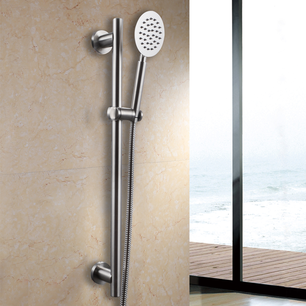 ALL Metal SUS304 Stainless Steel Hand Shower Head with Adjustable ...